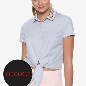 Riverdale by Hot Topic Betty tie front top
